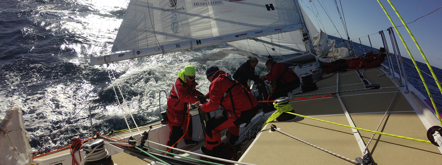 On board the Clipper 2015-16 Race