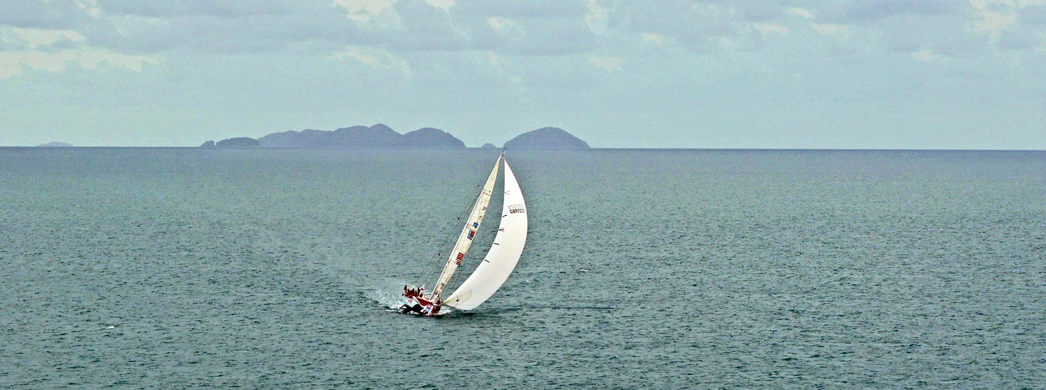 Clipper 2015-16 Race in the Whitsundays