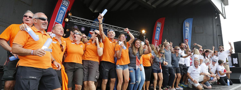 Race 13 prizes awarded in Den Helder