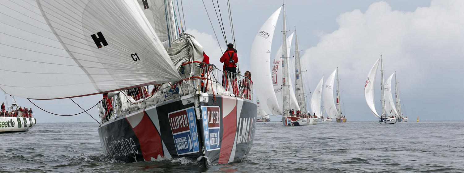 Finale of Clipper Race starts in The Netherlands