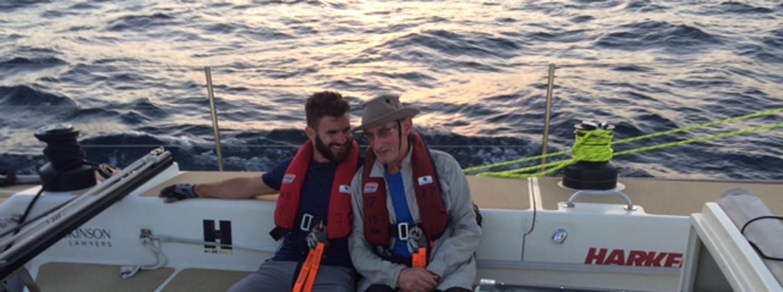 Adam and Ian Cristol during Level 2 Training in Sydney, 2017