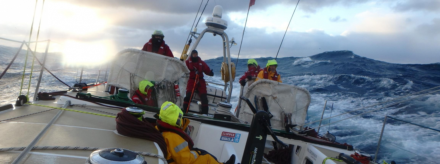 ​Race 8 Day 11: Violent storm hits fleet with 'extreme' conditions and 70 knot winds