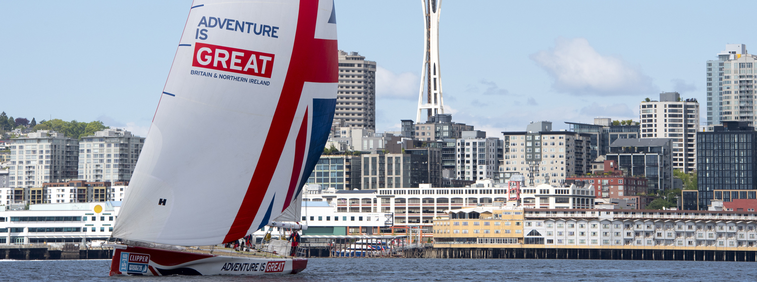 Hyde Sails during Clipper 2015-16 Race