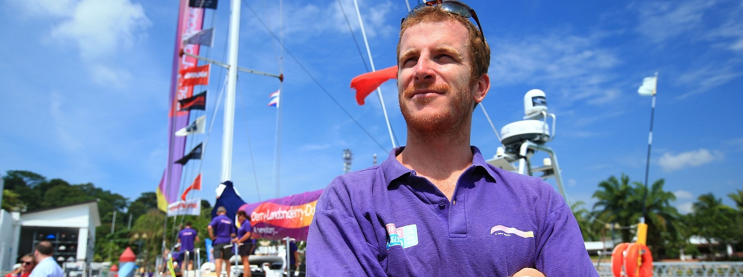 Derry-Londonderry-Doire Race Skipper Sean McCarter