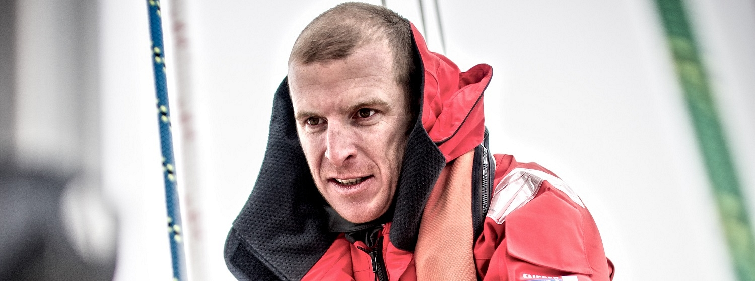 Clipper 2013-14 Race Skipper Sean McCarter, who was awarded the Rod Stephens Trophy by the Cruising Club of America